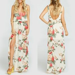 NWT Show Me Your MuMu Kendall Floral Maxi Dress M